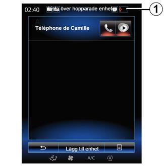 Ansluta telefonen för att synkronisera